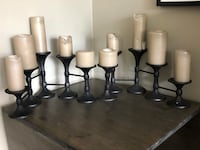 Pottery Barn candle holders Toronto, M5N 1L4