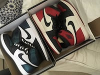 Size 11 bred toe and allstar 1s  Chantilly, 20105