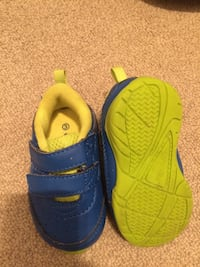 """Blue and yellow """"George"""" shoes  Calgary, T2B 1K6"""