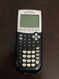 Black and gray texas instruments ti-84 plus Alexandria, 22304