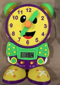 The Learning Journey Telly The Teaching Time Clock