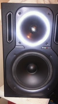 """2"" black and gray subwoofer speaker"