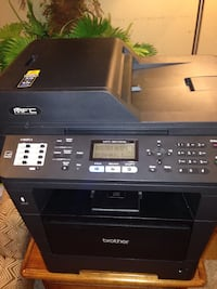 Brother MFC-8910DW All-In-One Laser FAX Copier Printer Alabaster, 35007