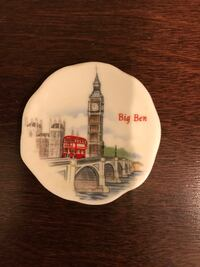 """Small """"Big Ben"""" decorative plate (*final week of moving sale*) Dunwoody, 30360"""