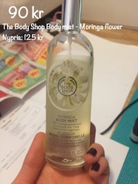 The Body Shop body mist moringa blomma