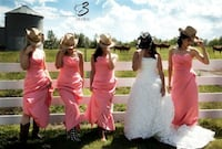 Coral grad/ bridesmaid dress Edmonton, T5X 0A7
