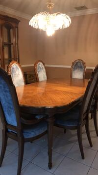 Table, Chairs & China Cabinet Fairfield, 07004