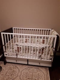 Baby crib with mattress and all accessories Langley, V3A 4E4