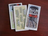 1938 Wills train collector cards