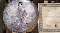 PRINCESS OF THE IRIS COLLECTOR PLATE BARRIE