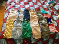 Lot of boy shorts , pants and bathing suits size 6/7 & 7/8 Laval, H7L 1W3