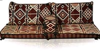 brown and black wooden 3-piece sofa set Apex, 27502