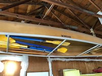 Canoe and paddles $250 obo Loomis, 95650