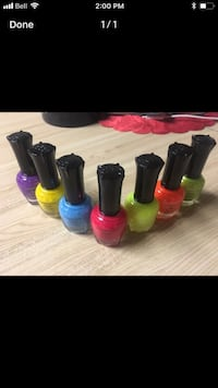 assorted-color nail polishes screenshot Saskatoon, S7N 3W7