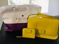Brand New Kate Spade Handbag with Brand new marching wallet $75 only Bartlett, 60120