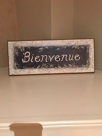 Wall art - bienvenue Vaughan, L4L