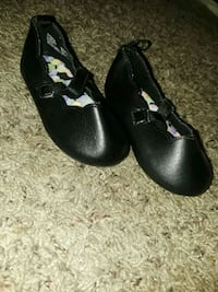 girl's black leather Mary Jane shoes Carson City, 89706
