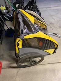 Copilot child bicycle trailer & stroller
