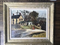 Antique oil painting in wooden frame  Toronto, M9B 3A8
