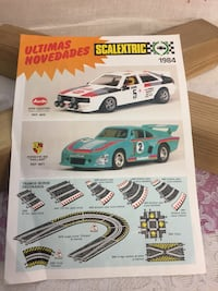 Scalextric Antiguo Folleto de Ultimas Novedades 1984 Getafe, 28902