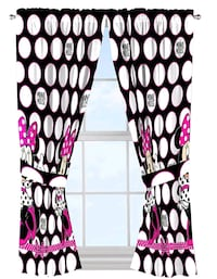 Minnie mouse curtains with rod Conway, 29527