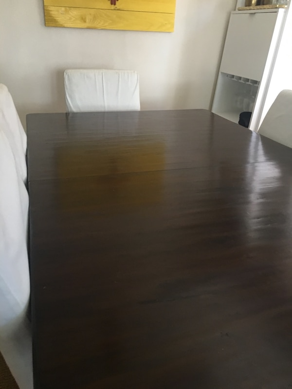 72 x 42 Pottery Barn Table w/ Two leaf insert