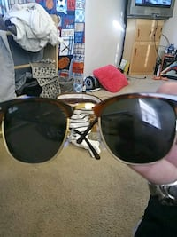 brown framed Ray-Ban sunglasses Louisville, 40219