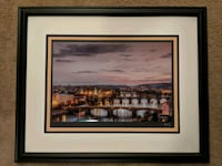 Prague Picture Very Nicely Framed Bel Air, 21015