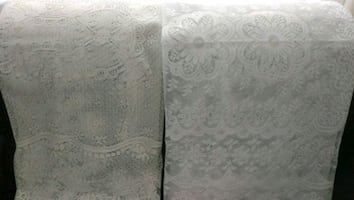 Lace tablecloths