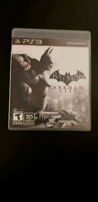 Batman Arkham City PS3 game case Toronto, M6C 2C1
