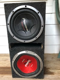 black and gray Pioneer subwoofer speaker Rocky Hill, 06067