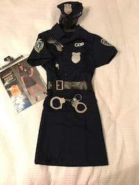 Woman police costume with accessories  Jacksonville, 28540