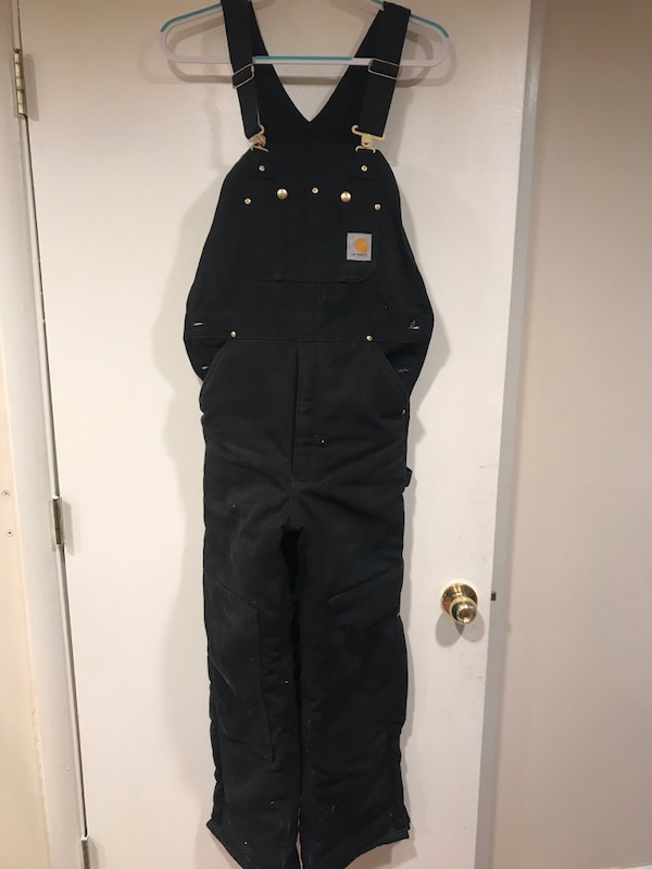 Warm insulated Carhart overalls