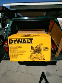 "New dewalt miter saw sliding 10"" in $390 Ogden, 84403"