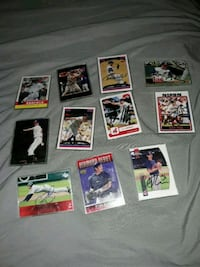 assorted baseball player trading card collection Parma, 44134
