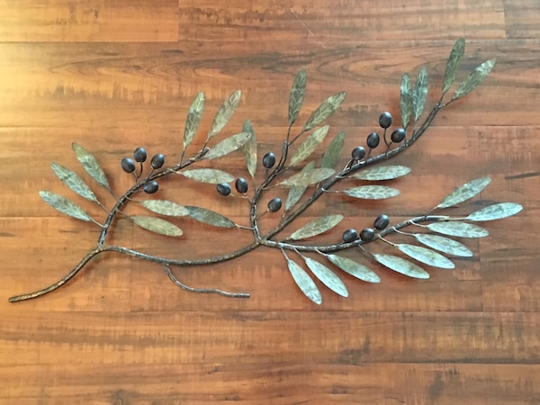 Metal Olive Branch Wall Art Pottery Barn 31