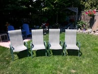 four  lawn chairs Bowmanville