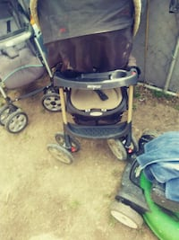 baby's blue and gray stroller Kansas City, 66105