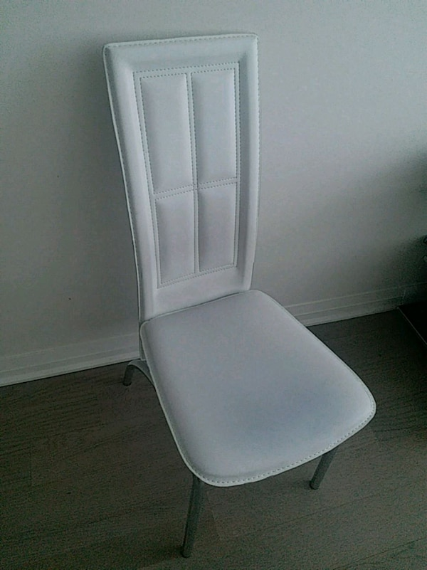 Stylish white chair - 2 available