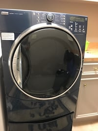 New KitchenAid Refrigerator & Kenmore dryer, see price for each item.