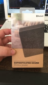 Sophisticated sound wireless speaker, 20$+ selling for 15 unused in the sealed box