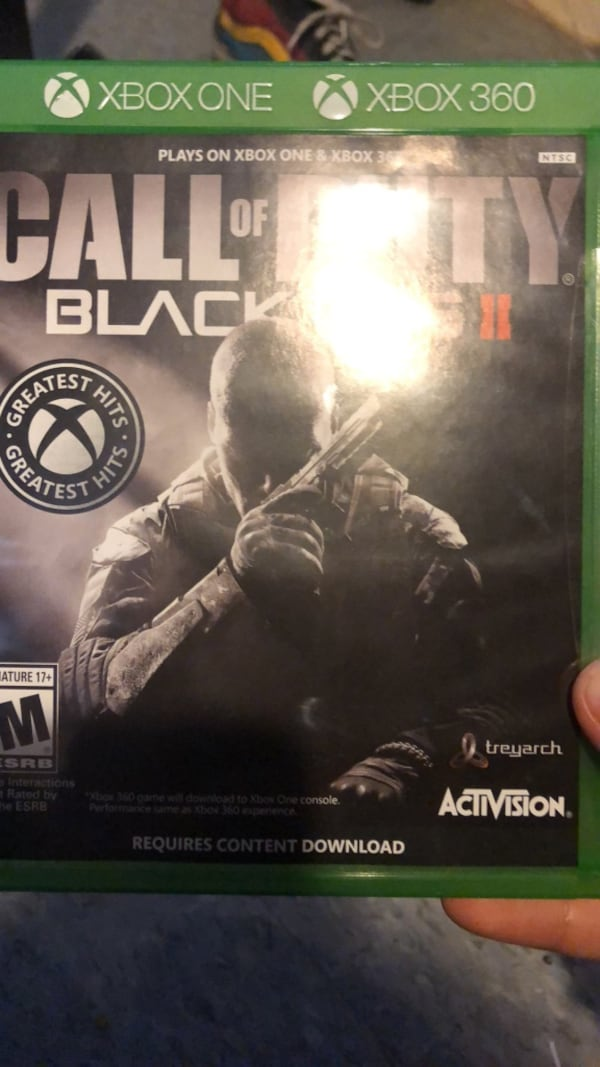 Sold Call Of Duty Black Ops 2 For Xbox One And 360 In Port Hueneme