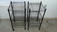 REDUCED-Used-Metal Storage Towers ($35 for both) Alexandria
