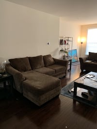 NEW Brown fabric Sectional AND Loveseat Glenarden, 20706