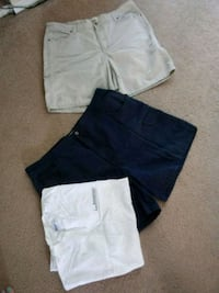 two white and black shorts Helendale, 92342