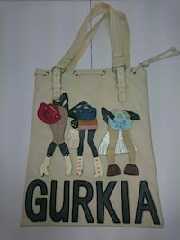 Bolso Gurkia Bag relieve