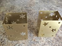 2 metal candle holders, great condition. Ocala, 34472
