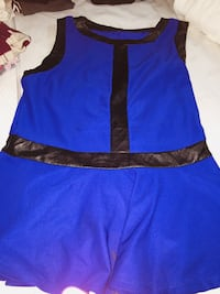 women's blue and black sleeveless dress Bladensburg, 20710