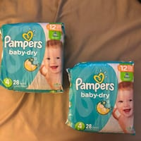 Pampers Baby Dry Size 4 Rockville