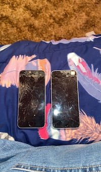 An iPhone 5 and she